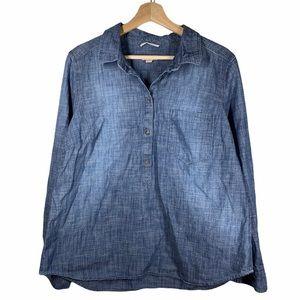 Merona Denim Shirt- size XXL